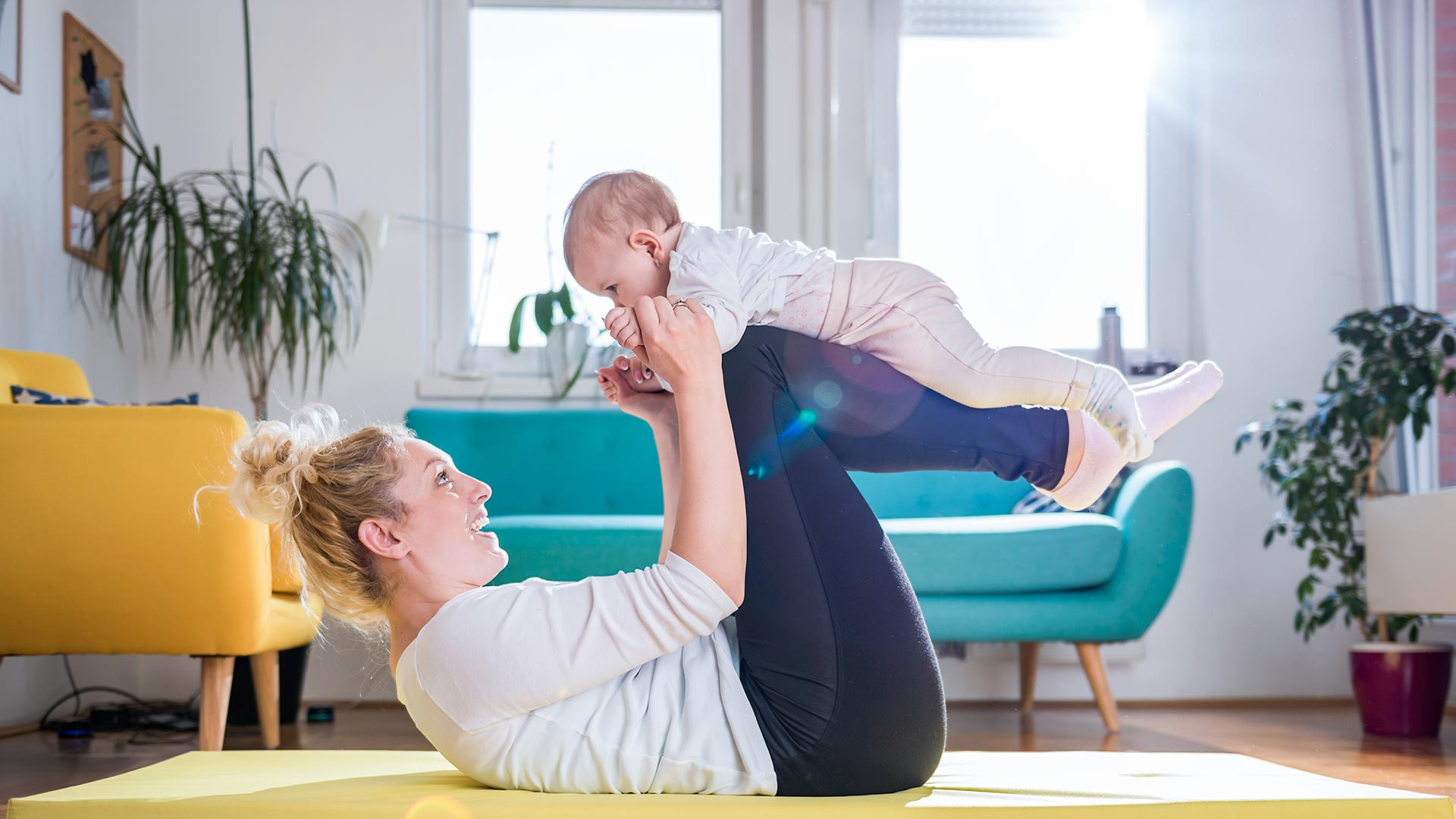 When Can I Start Exercising Again After Having a Baby?